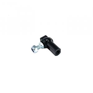 Kugelgelenk mit Sicherheitsverschluss, Kunststoff PA 6.6, M6 Kugel + Pfanne